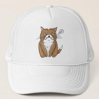 Casquette Dessin grincheux drôle de chat de Meh