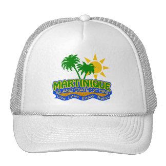 Casquette d'état d'esprit de la Martinique -
