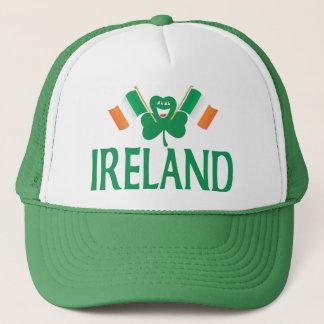 Casquette Deux drapeaux de l'Irlande