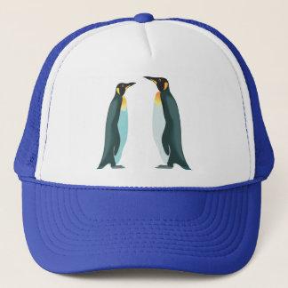 Casquette Deux pingouins