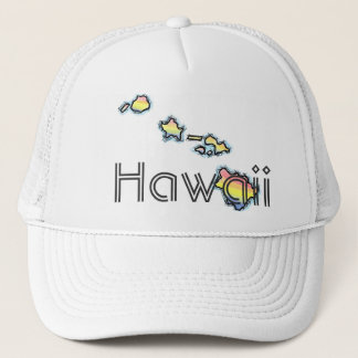 Casquette d'Hawaï d'îles hawaïennes