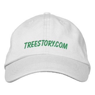 Casquette d'histoire d'arbre casquette brodée
