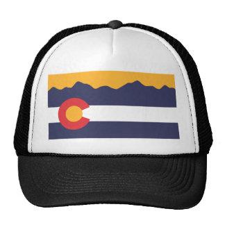 Casquette d'horizon de drapeau du Colorado