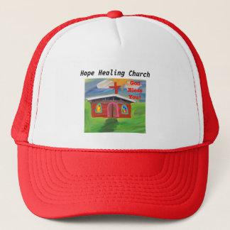 Casquette Dieu curatif d'église d'espoir vous bénissent