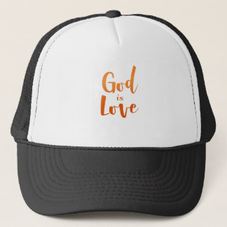 Casquette Dieu est amour - spirituel et religieux