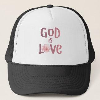 Casquette Dieu est chemise spirituelle et religieuse d'amour