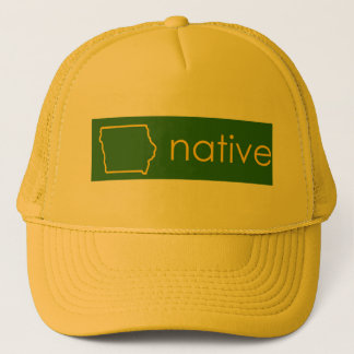 Casquette d'indigène de l'Iowa