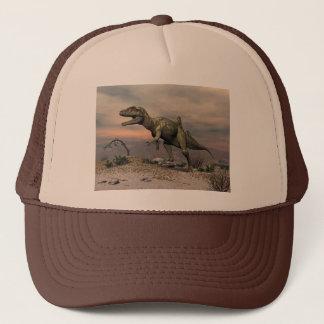 Casquette Dinosaure de Concavenator dans le désert
