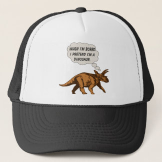 Casquette Dinosaure drôle de Triceratops