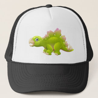 Casquette Dinosaure mignon de bande dessinée de Stegosaurus