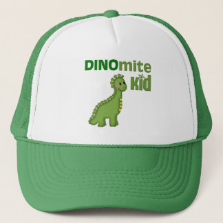 Casquette Dinosaure vert Dinomite