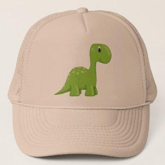 Casquette Dinosaure vert mignon