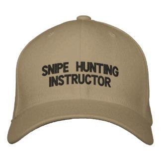 casquette d'instructeur de chasse de coup de feu