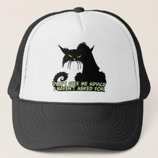Casquette Dire de conseil de chat noir