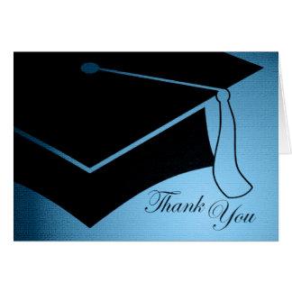 casquette d'obtention du diplôme : merci carte de vœux