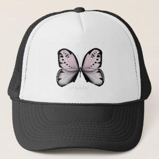 Casquette Domestique rose de marais de papillon rose