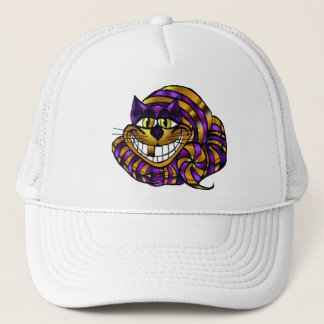 Casquette d'or de chat de Cheshire