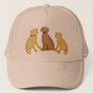 Casquette d'or de chiens d'arrêt de Labrador