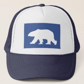 Casquette d'ours blanc. Faites une déclaration