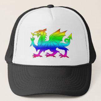 Casquette Dragon d'arc-en-ciel
