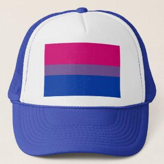 Casquette Drapeau bisexuel d'arc-en-ciel de fierté de LGBT