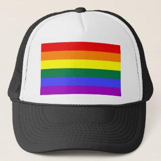 Casquette Drapeau d'arc-en-ciel de LGBT