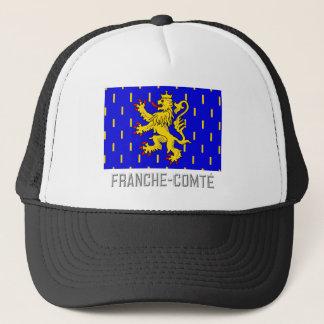 Casquette Drapeau de Franche-Comté avec le nom
