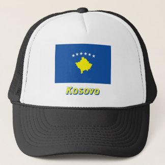 Casquette Drapeau de Kosovo avec le nom