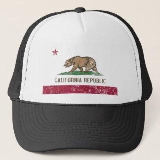 Casquette Drapeau de la Californie affligé