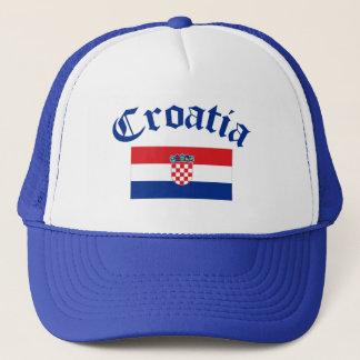 Casquette Drapeau de la Croatie