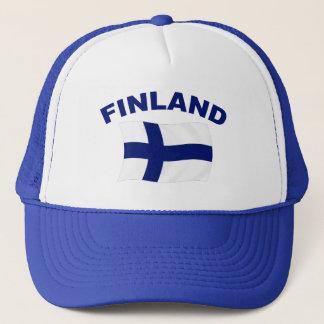 Casquette Drapeau de la Finlande