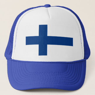 Casquette Drapeau de la Finlande (lippu de Suomen, flagga de