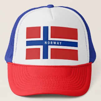 Casquette Drapeau de la Norvège