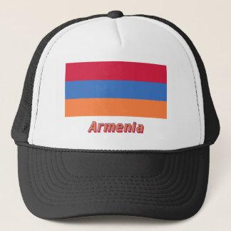 Casquette Drapeau de l'Arménie avec le nom