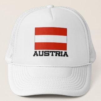 Casquette Drapeau de l'Autriche