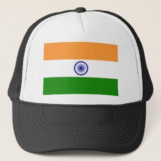 Casquette Drapeau de l'Inde. Bharat Ganrajya