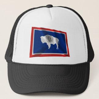 Casquette Drapeau de ondulation du Wyoming