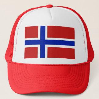 Casquette Drapeau de Scandinave de la Norvège