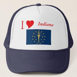 Casquette Drapeau d'état de l'Indiana
