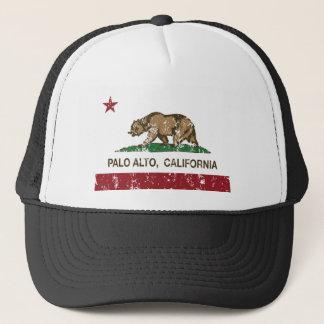 Casquette drapeau d'état de Palo Alto la Californie