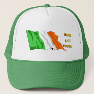 Casquette Drapeau d'Irlandais du jour de St Patrick