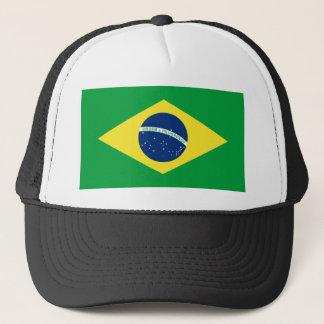 Casquette drapeau du Brésil