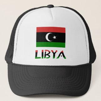 Casquette Drapeau et mot de la Libye