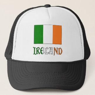 Casquette Drapeau et mot de l'Irlande