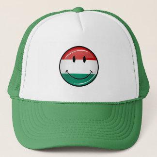 Casquette Drapeau hongrois de sourire