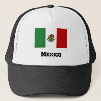 Casquette Drapeau mexicain et texte