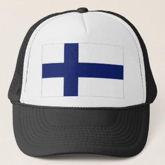 Casquette Drapeau national de la Finlande