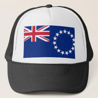 Casquette Drapeau national du monde de Cook_Islands