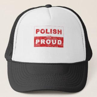 Casquette Drapeau polonais et fier
