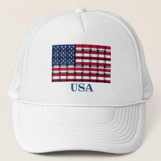 Casquette Drapeau tissé Ballcap des Etats-Unis